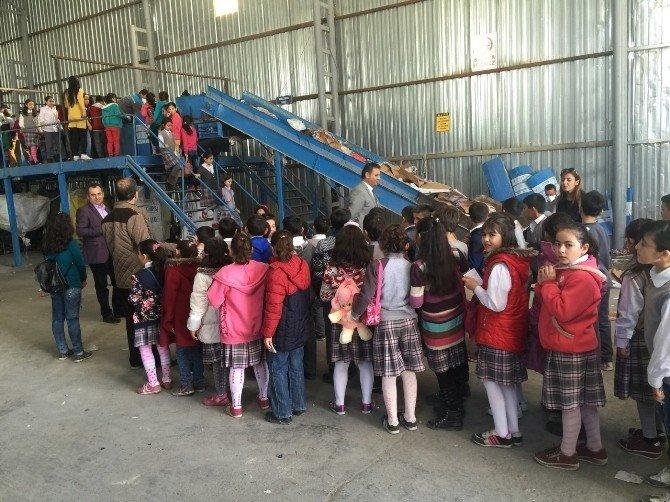 Öğrencilerden Niğde Belediyesinin Katı Atık Depolama Tesisine Teknik Gezi