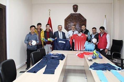 Başkan Bozkurt'tan Spora Destek