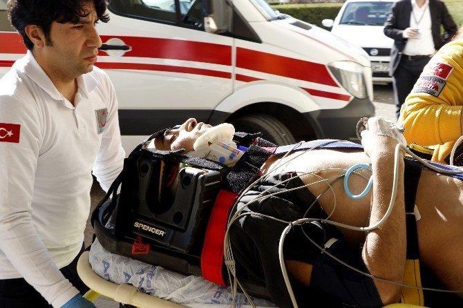 Fakülte İnşaatında İş Kazası: 1 Ağır Yaralı