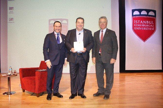 Bosch Türkiye Ve Ortadoğu Başkanı, Öğrencilerle Deneyimlerini Paylaştı