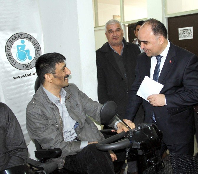 Kastamonu'da Tekerlekli Sandalyesi Olmayan Engelli Kalmayacak