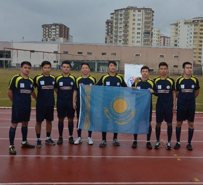 1. Kayseri Uluslararası Öğrenciler Dünya Kupası Başladı