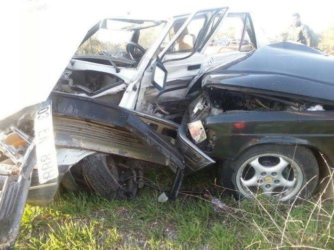Burhaniye'de Kaza: 4 Yaralı