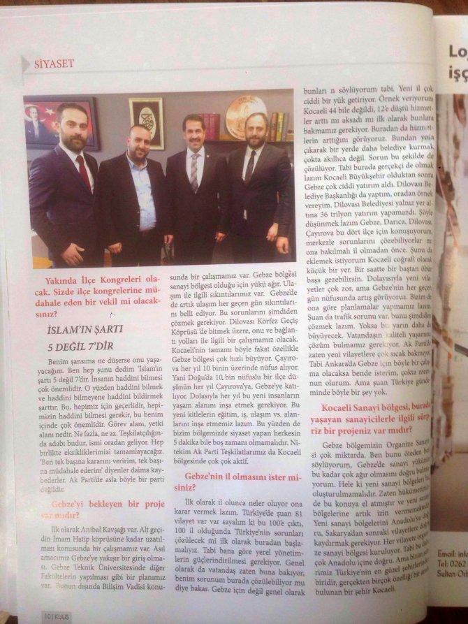 AK Parti Kocaeli Milletvekili Yaman: İslamın şartı 5 değil, 7'dir