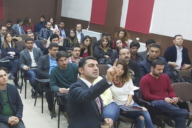 Avukatlara Hitabet Ve Beden Dili Eğitimi Verildi