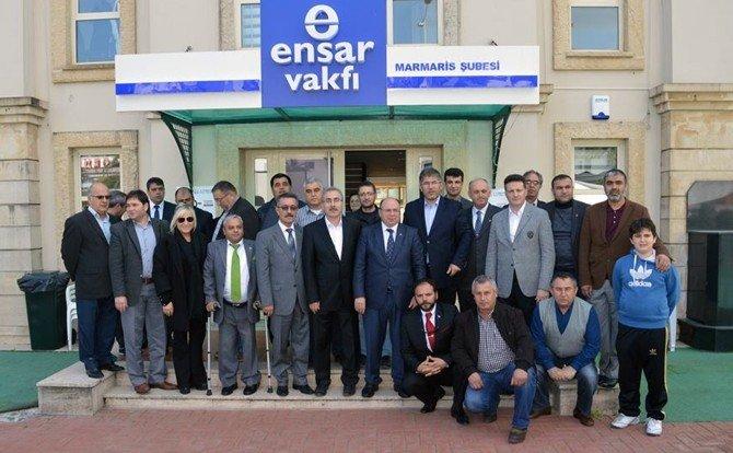 Öztürk'ten Marmaris Ensar Vakfı'na Ziyaret