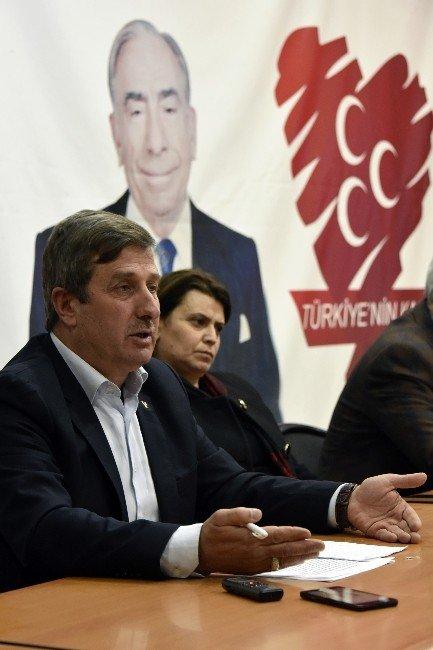 Görevden Alınan MHP Gümüşhane İl Başkanı Ali Ateş: