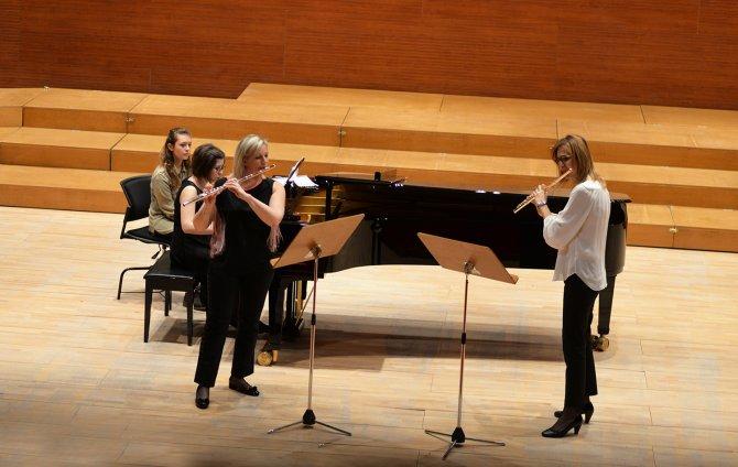 Trio Mimar Sinan'dan Uludağ Üniversitesi'nde konser