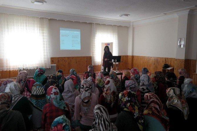 Kadın Danışma Merkezi Eğitim Seminerlerini Sürdürüyor