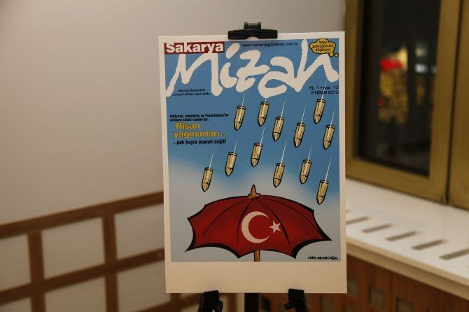 Aziz Yavuzdoğan'ın Karikatür Sergisi