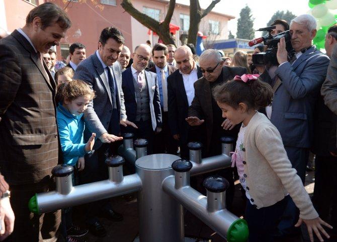 Spastik engelliler için özel park