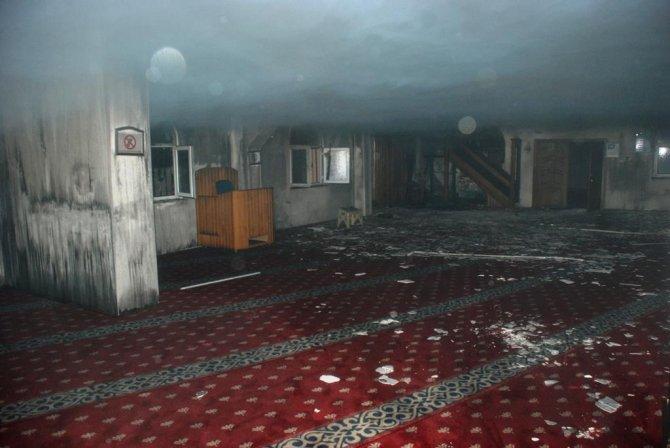 Osmaniye'de cami ikinci kez yandı