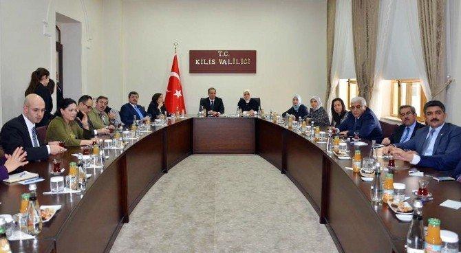 Meclis Araştırma Komisyonu Üyeleri Kilis'te