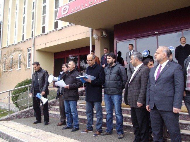 Türkiye Petrolleri İşçileri İş Bırakma Eylemi Yaptı