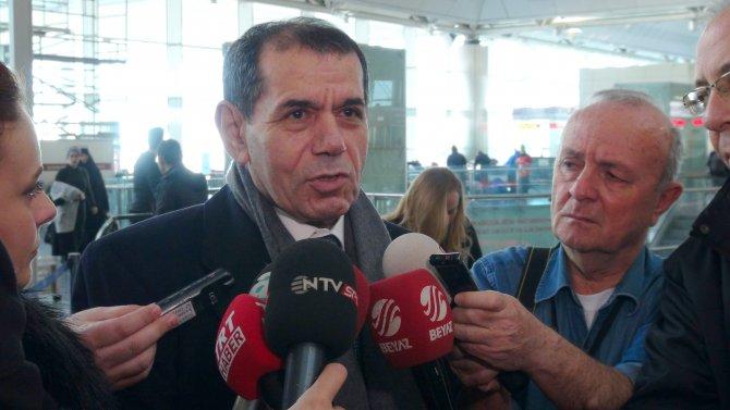 Dursun Özbek, sözlü savunma için İsviçre'ye gitti
