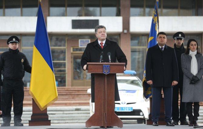 Poroşenko: Kremlin, Ukrayna'da üçüncü meydan peşinde