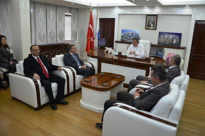 Fatsa Vergi Dairesi'nden Başkan Anlayan'a Ziyaret