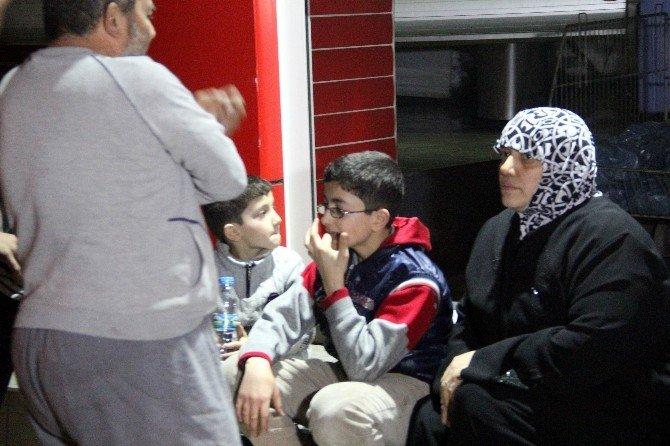 Suriyeli Çocuğun Ateşle Oyunu Yangın Çıkardı: 1 Yaralı