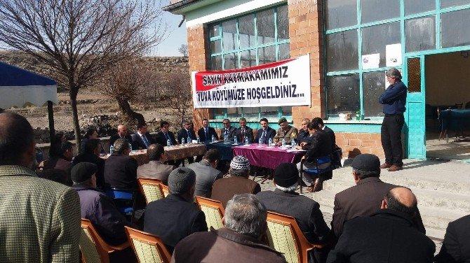 Acıgöl Kaymakamı Çakır'dan Köy Ziyaretleri