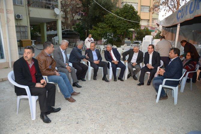 Başkan Sözlü'den dövülerek öldürülen Sarıkaya'nın ailesine taziye ziyareti