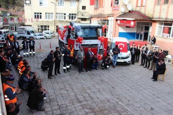 Saimbeyli Belediyesi araç filosunu güçlendirdi