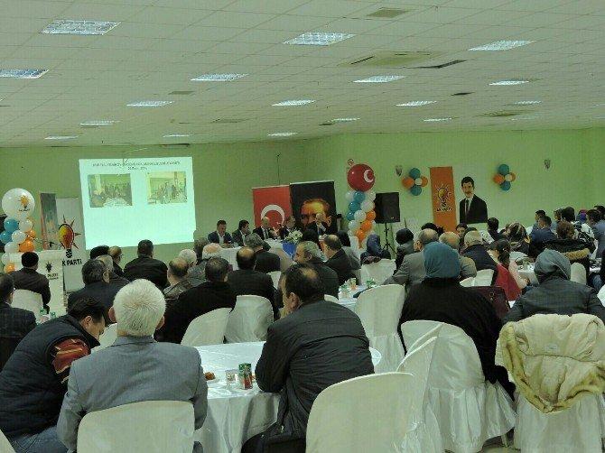 AK Parti Gemlik Teşkilatı İlçe Danışma Meclisinde Buluştu
