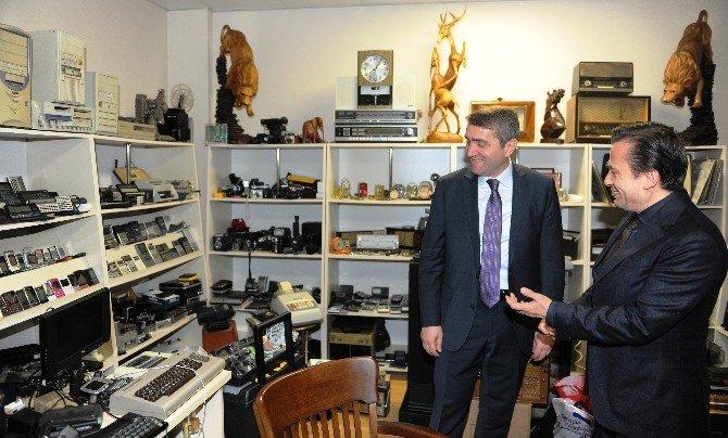 AK Parti İl Başkanı Selim Temurci, Başkan Yazıcı'yı Ziyaret Etti