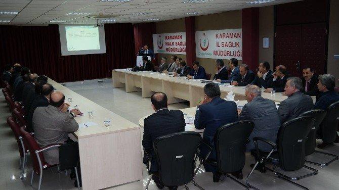 AK Parti Karaman Milletvekilleri Kurum Müdürleri İle Biraraya Geldi