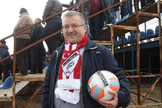 Yeni Kurulan Kulübün Maçını İzlemeye Almanya'dan Geldi