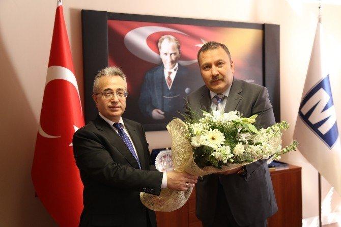 Ankara Vergi Dairesi Başkanından Asmmmo'ya Ziyaret