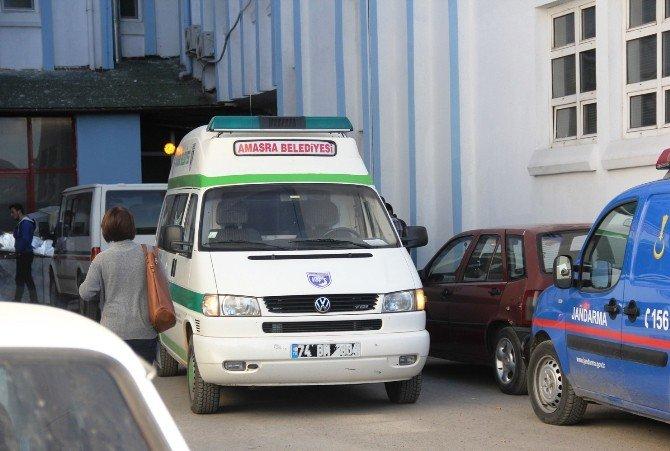 Kocası Tarafından Öldürülen Kadının Cenazesi Morga Kaldırıldı