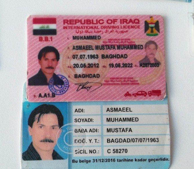 Sahte Pasaport Operasyonu Kamerada