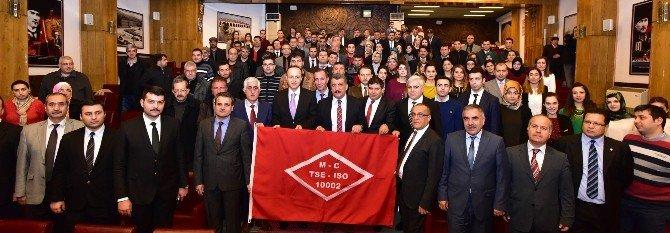 Battalgazi Belediyesi, Ts ISO 10002 Müşteri Memnuniyeti Yönetim Sistemi Belgesi'ni Aldı