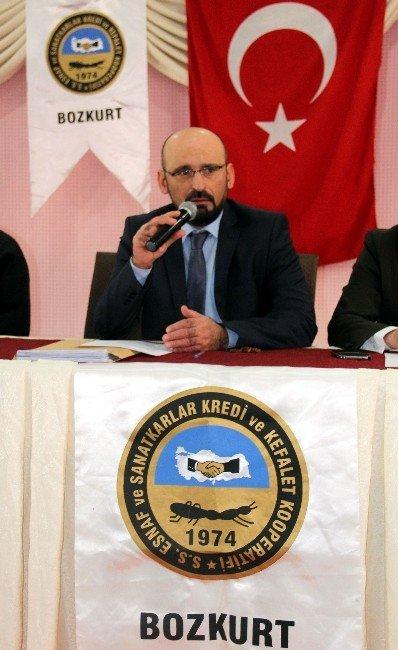 Esnaf Kefalet Kooperatifi Mali Kongresini Yaptı