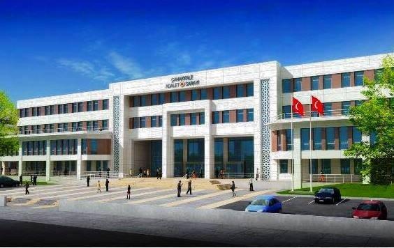Çanakkale Adalet Sarayı İnşaatına Başlandı