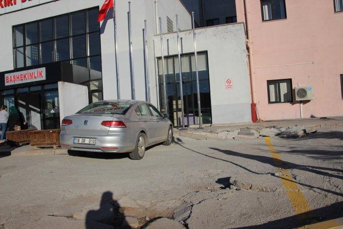 Çankırı'da milyonların harcandığı kamu yatırımı çökmek üzere