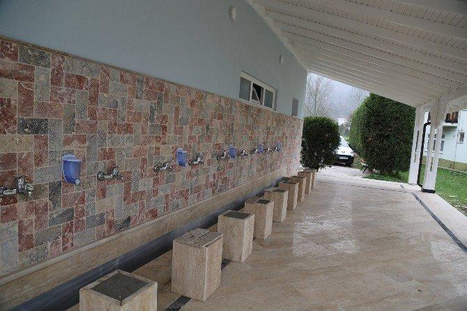 Kırkpınar Merkez Camisine Yeni Tuvalet Ve Şadırvan