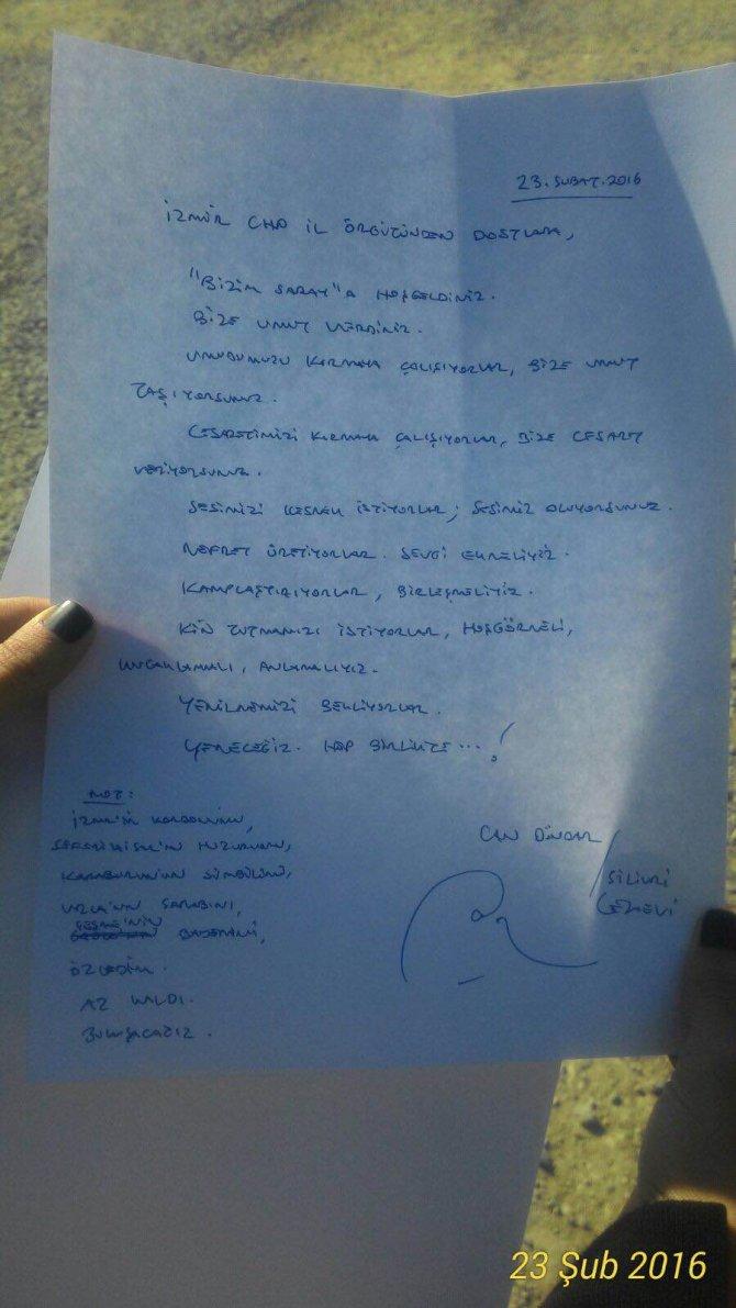 Can Dündar ve Erdem Gül'den İzmir'e mektup