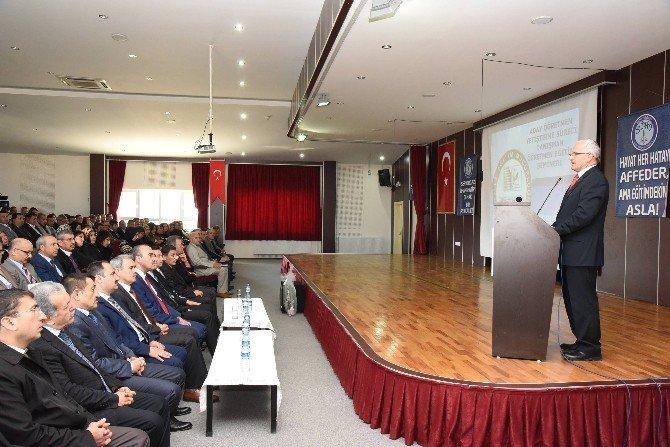 Denizli'de Danışman Öğretmen Eğitim Semineri Yapıldı