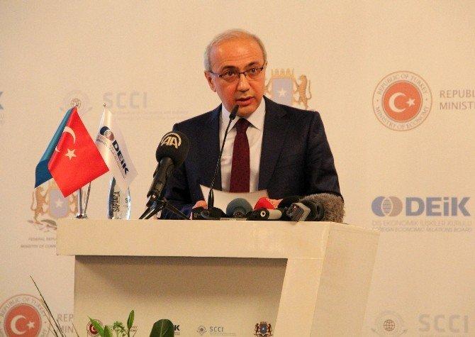 Ekonomi Bakanı Elitaş Türkiye-somali İş Forumu'na Katıldı
