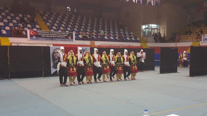 Dörtyol Belediyesi Halk Oyunları Ekibi il birincisi oldu