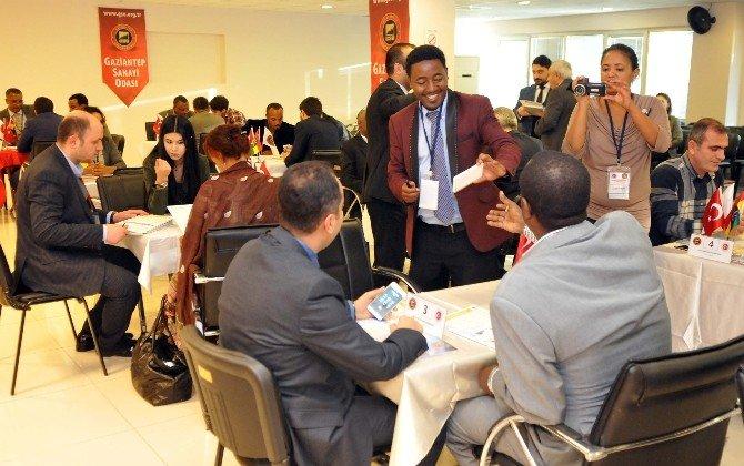 Etiyopya Ticari Alım Heyeti İkili İş Görüşmelerine Katıldı