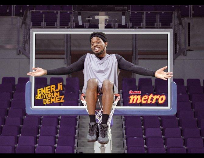 Fenerbahçe'nin basketbolcuları reklam yıldızı oldu