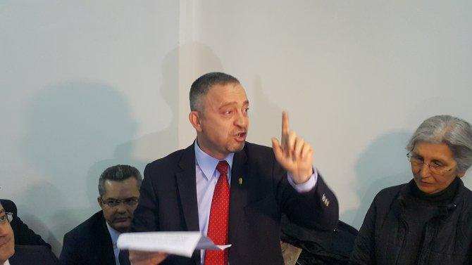 Feyzioğlu, baro başkanlarıyla Cerattepe'ye desteğe geldi