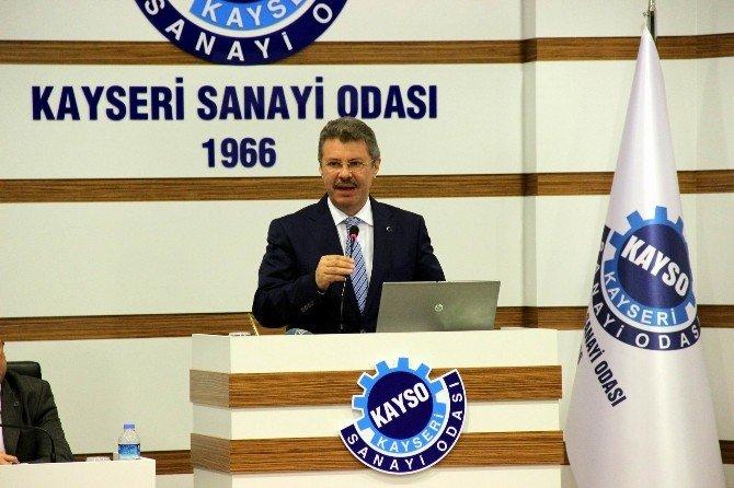 Kayseri Sanayi Odası Yönetim Kurulu Başkanı Mustafa Boydak: