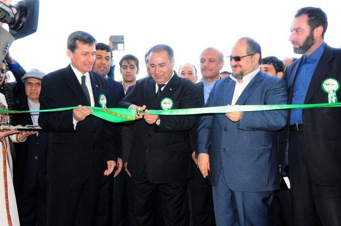 Türkmenistan'da '12. İran Ürünleri Özel Fuarı' açıldı