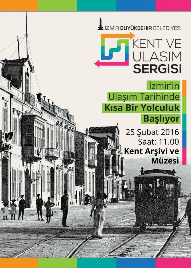İzmir'in ulaşım tarihi bu sergide