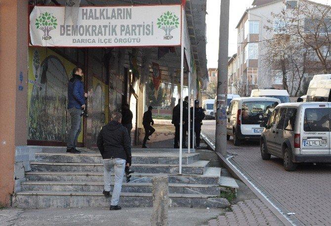 Darıca'da Terör Operasyonu: 22 Gözaltı