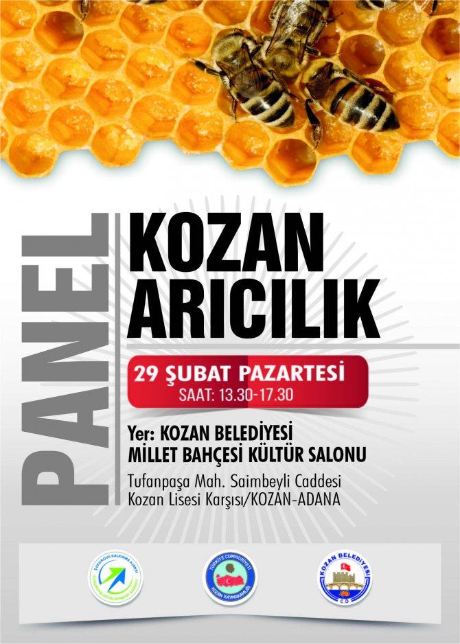 Kozan'da 'Arıcılık Paneli' düzenlenecek