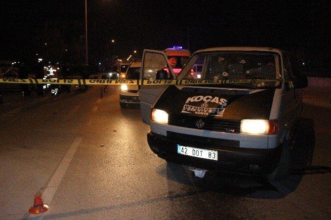 Konya'da İki Kişi Sokak Ortasında Öldürüldü